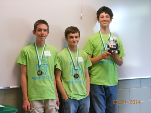 4-H robotics team picture