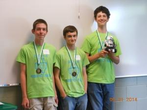 4-H robotics team picture