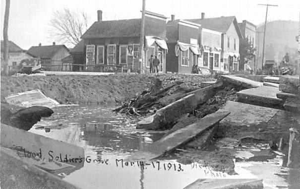 1913 flood: Afterwards