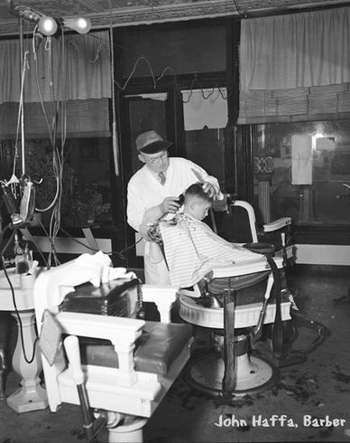1951: John Hoffa Barber Shop