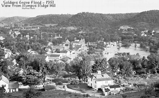 1951 flood: From Rumpus Ridge