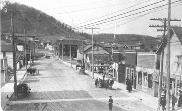 early 1900s: Main St