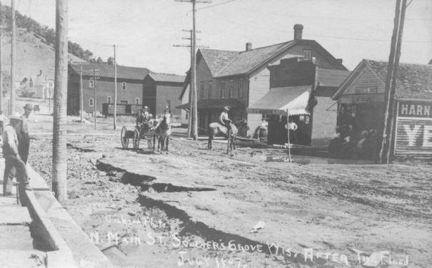 1907: After flood