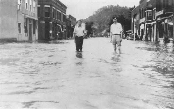 1940s: Flood