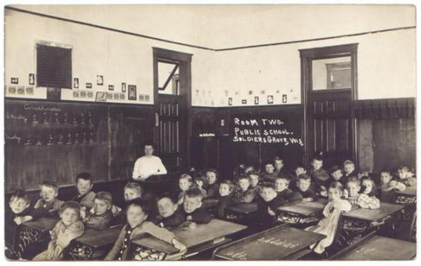 1910: Schools